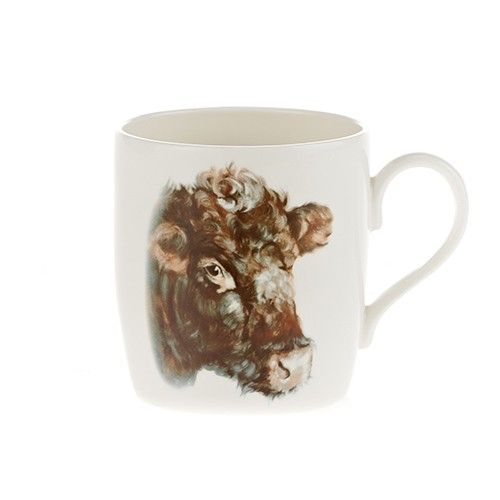 At Home In The Country Fine Bone China Mug - Miss Garnet