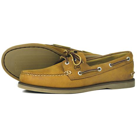 Newport Deck Shoes - Sand