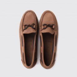Dubarry Rhodes Deck Shoe - Cafe