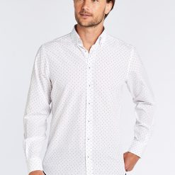 Dubarry Sandymount Print Shirt - White Multi