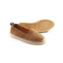 Fairfax & Favor The Monaco Flat - Tan Espadrille