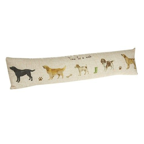 At Home In The Country Draught Excluder - Time For A Walk