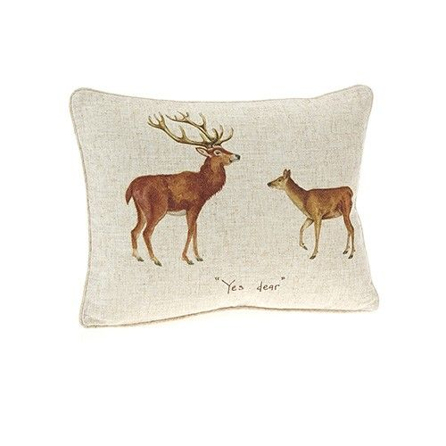 At Home In The Country Cushion - Yes Dear