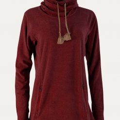 Noble Outfitters Godiva Cowl - Cranberry