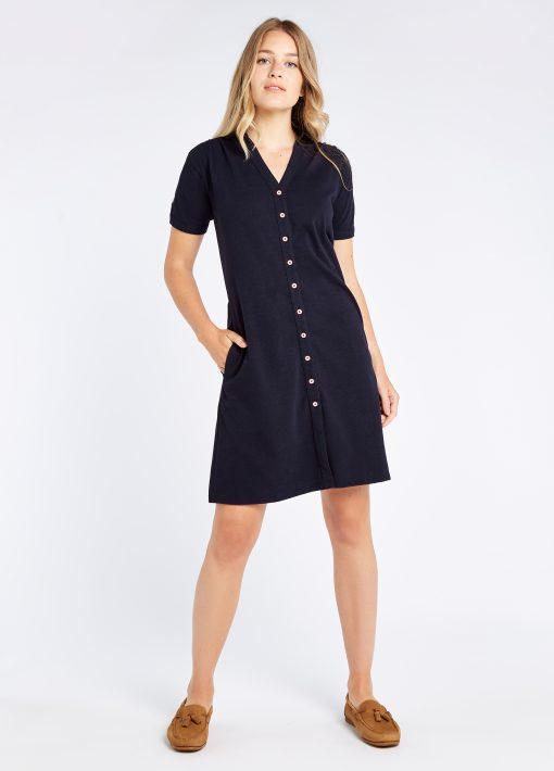 Druid Dress - Navy