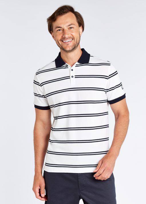 Gardiner Polo Shirt - White