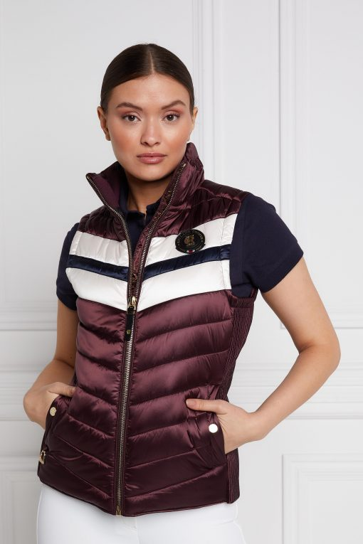 Sports Team Gilet - Mulberry
