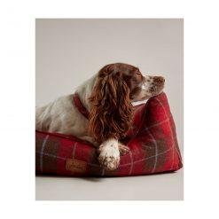 Heritage Tweed Box Bed - Red
