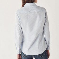 Striped Classic Fit Shirt - Blue