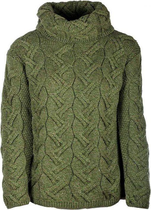 Supersoft Merino Wool Sweater - Moss Green
