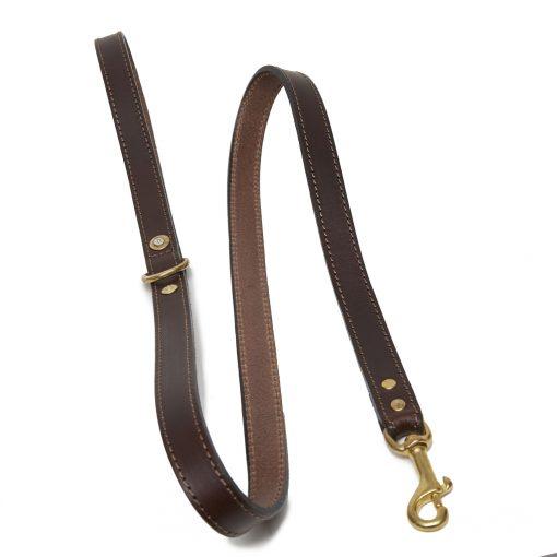 Dumbleton Rifle Dog Lead - Brown
